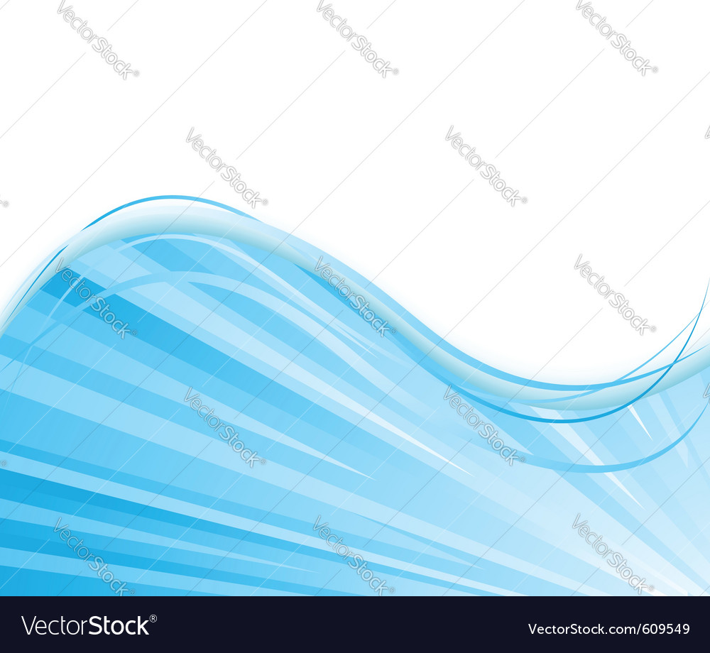 Blue colored ray background vector | Price: 1 Credit (USD $1)