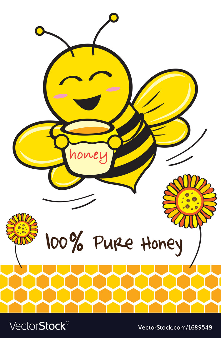 Cartoon bee vector   Price: 1 Credit (USD $1)