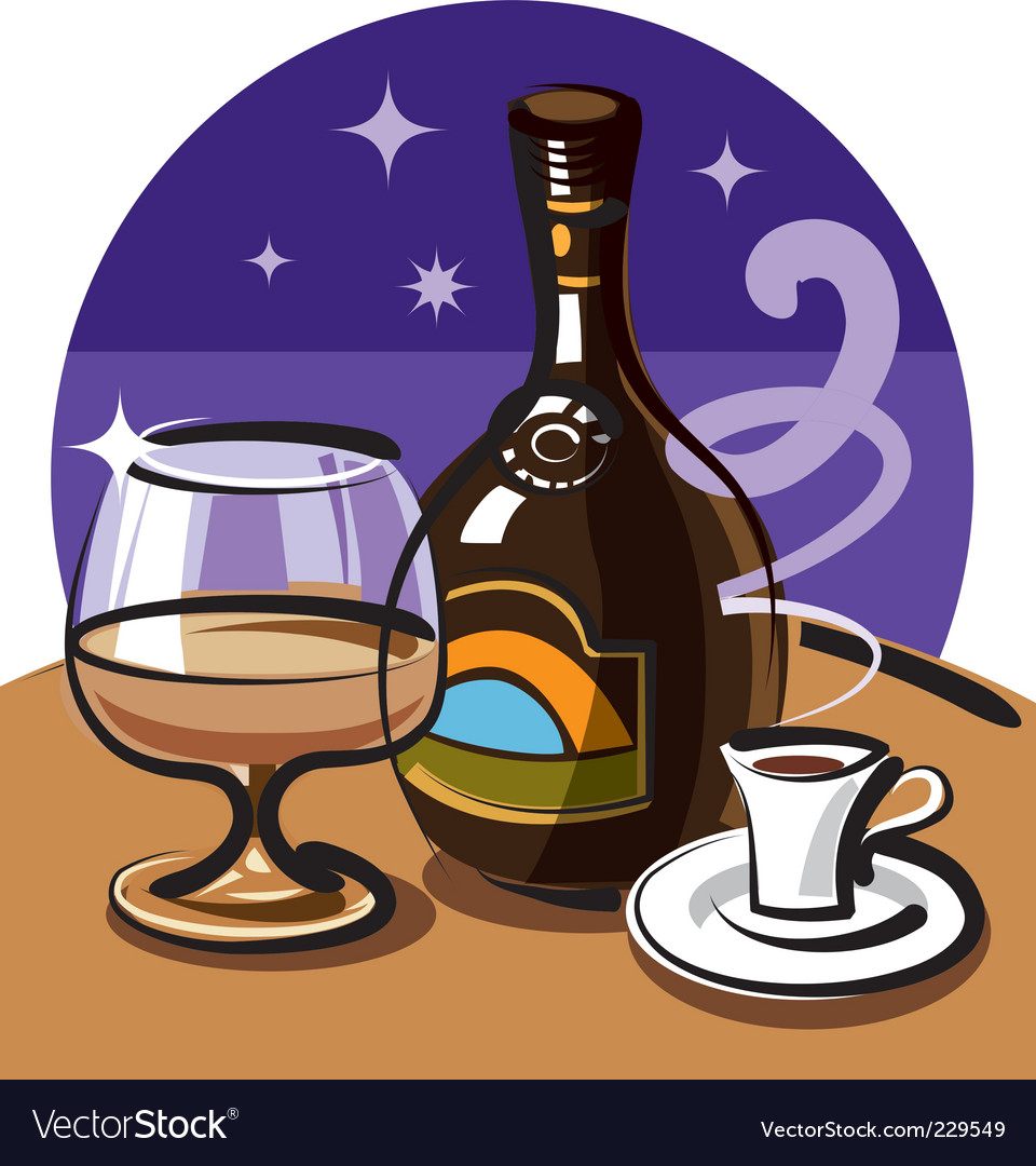 Cream liqueur vector | Price: 1 Credit (USD $1)