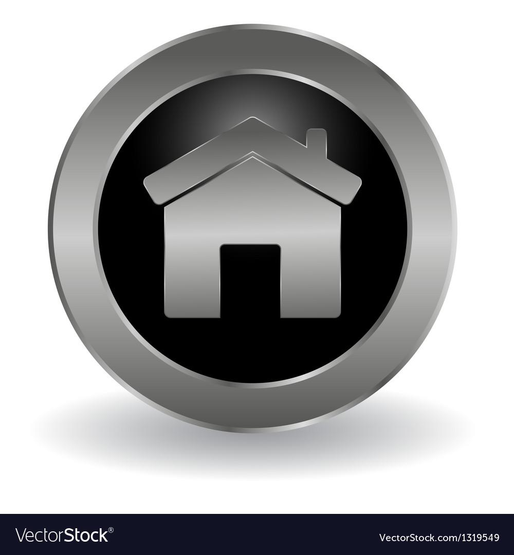 Metallic main button vector | Price: 1 Credit (USD $1)