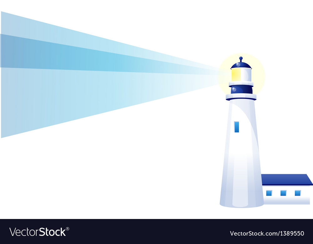 Icon light house vector | Price: 1 Credit (USD $1)