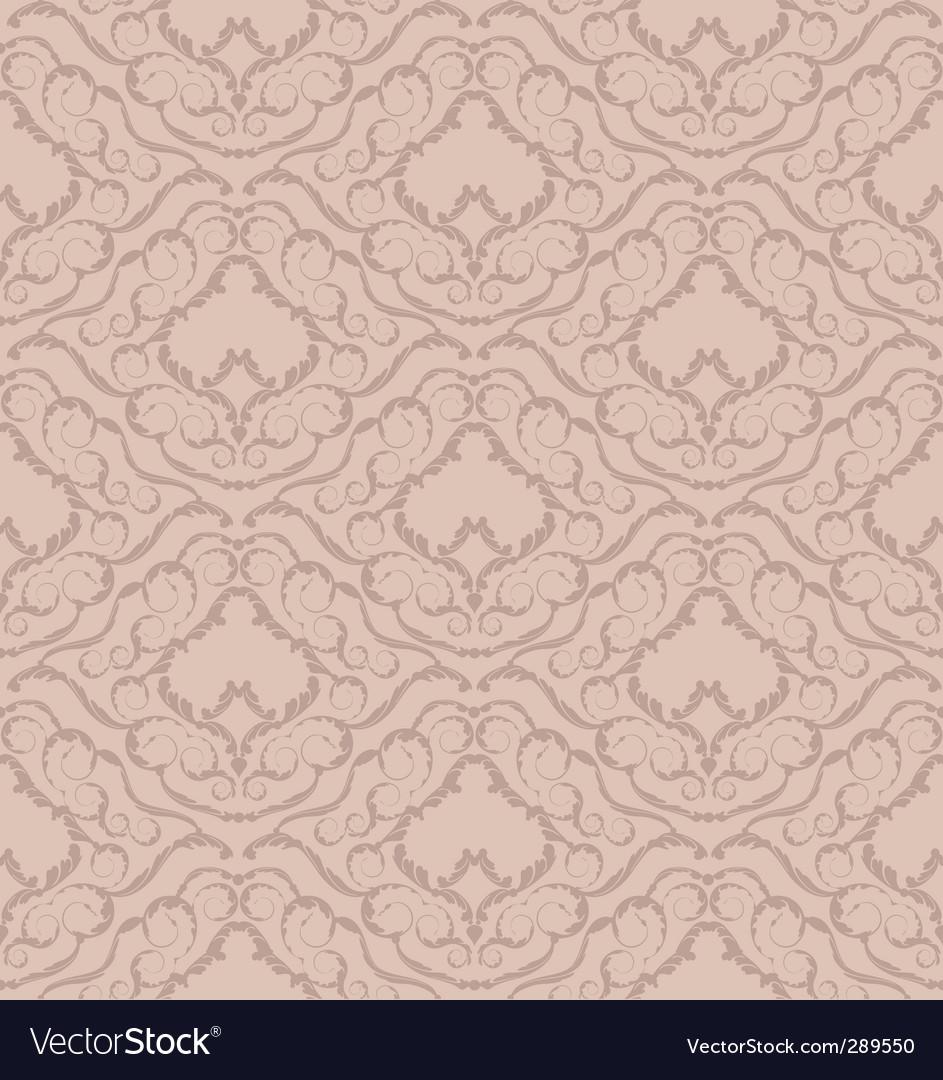 Ornate wallpaper pattern vector | Price: 1 Credit (USD $1)