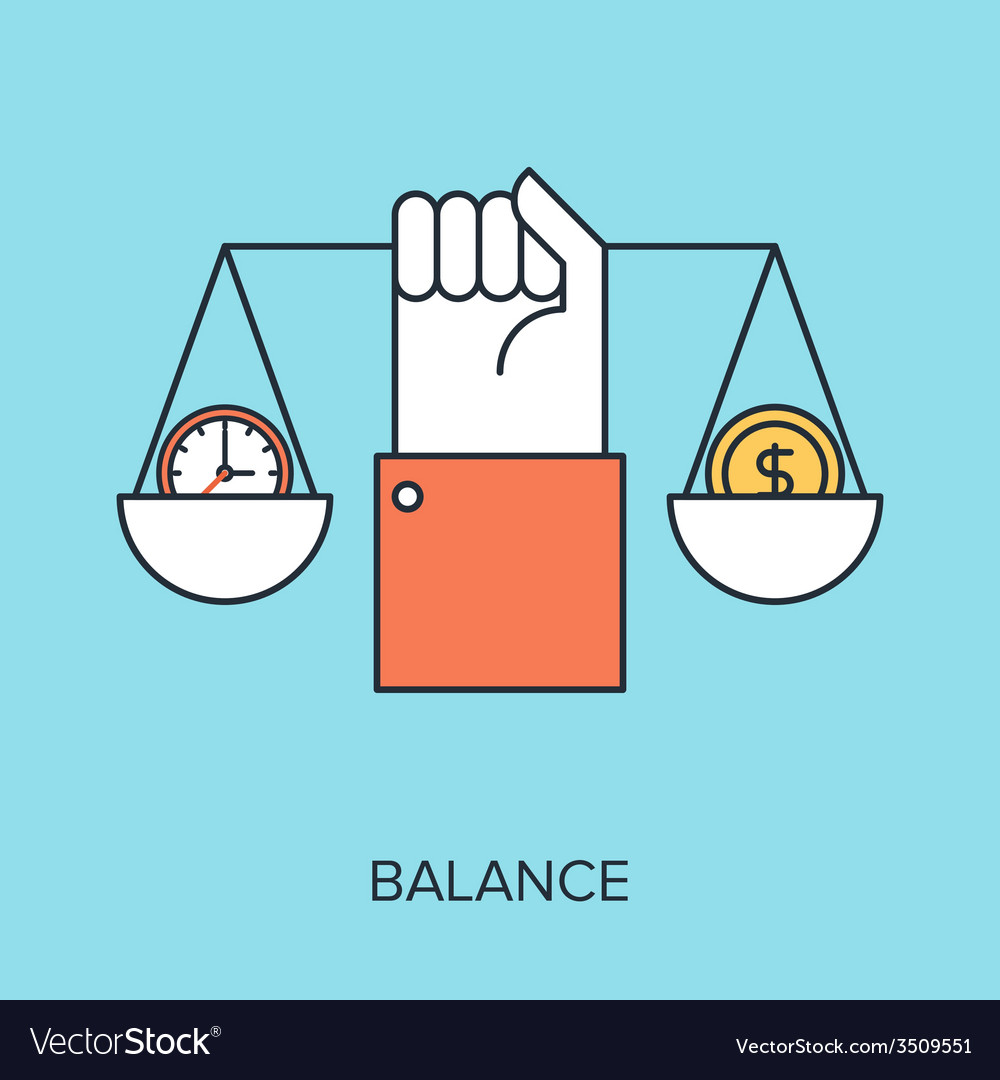 Balance vector | Price: 1 Credit (USD $1)