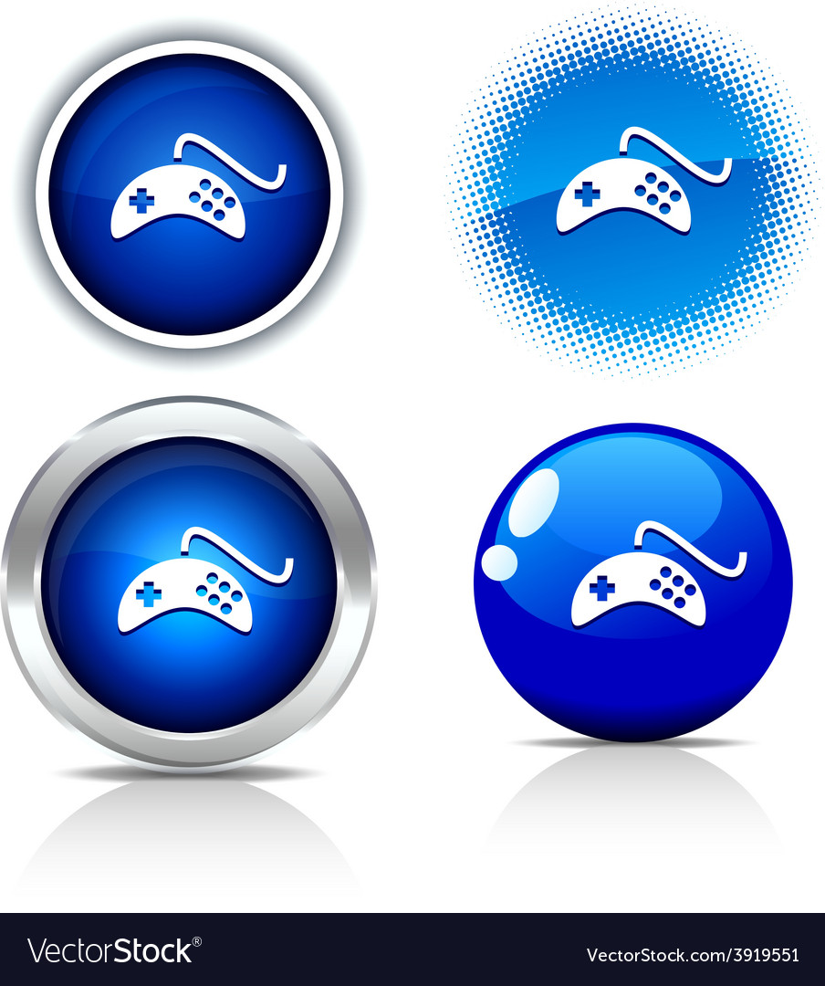 Gamepad buttons vector | Price: 1 Credit (USD $1)