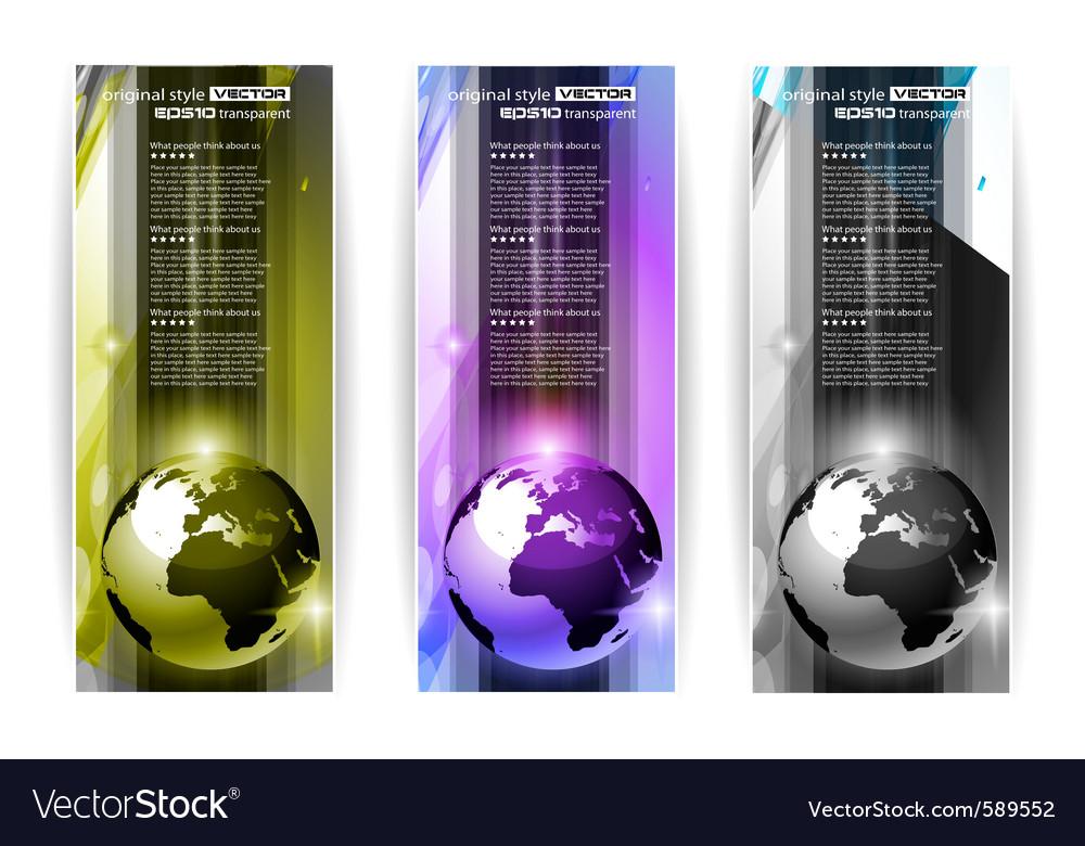 Hi tech business card vector | Price: 3 Credit (USD $3)