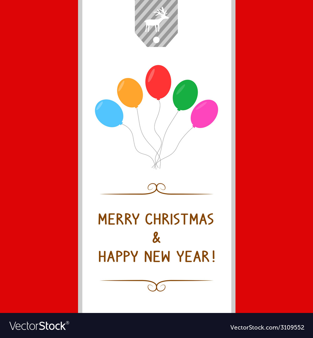 Mc and hny greeting card7 vector | Price: 1 Credit (USD $1)