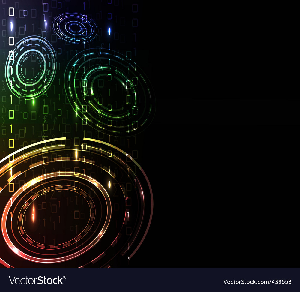 Abstract glow background vector | Price: 1 Credit (USD $1)