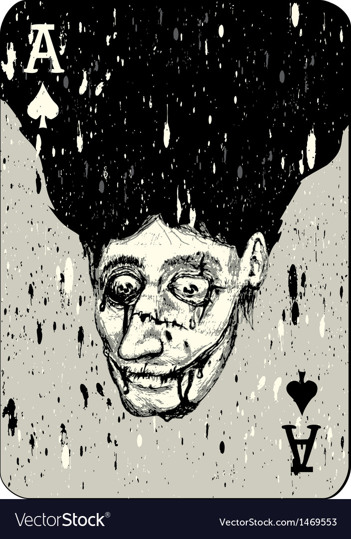 Playing cards all four aces two alternative ace of vector | Price: 1 Credit (USD $1)
