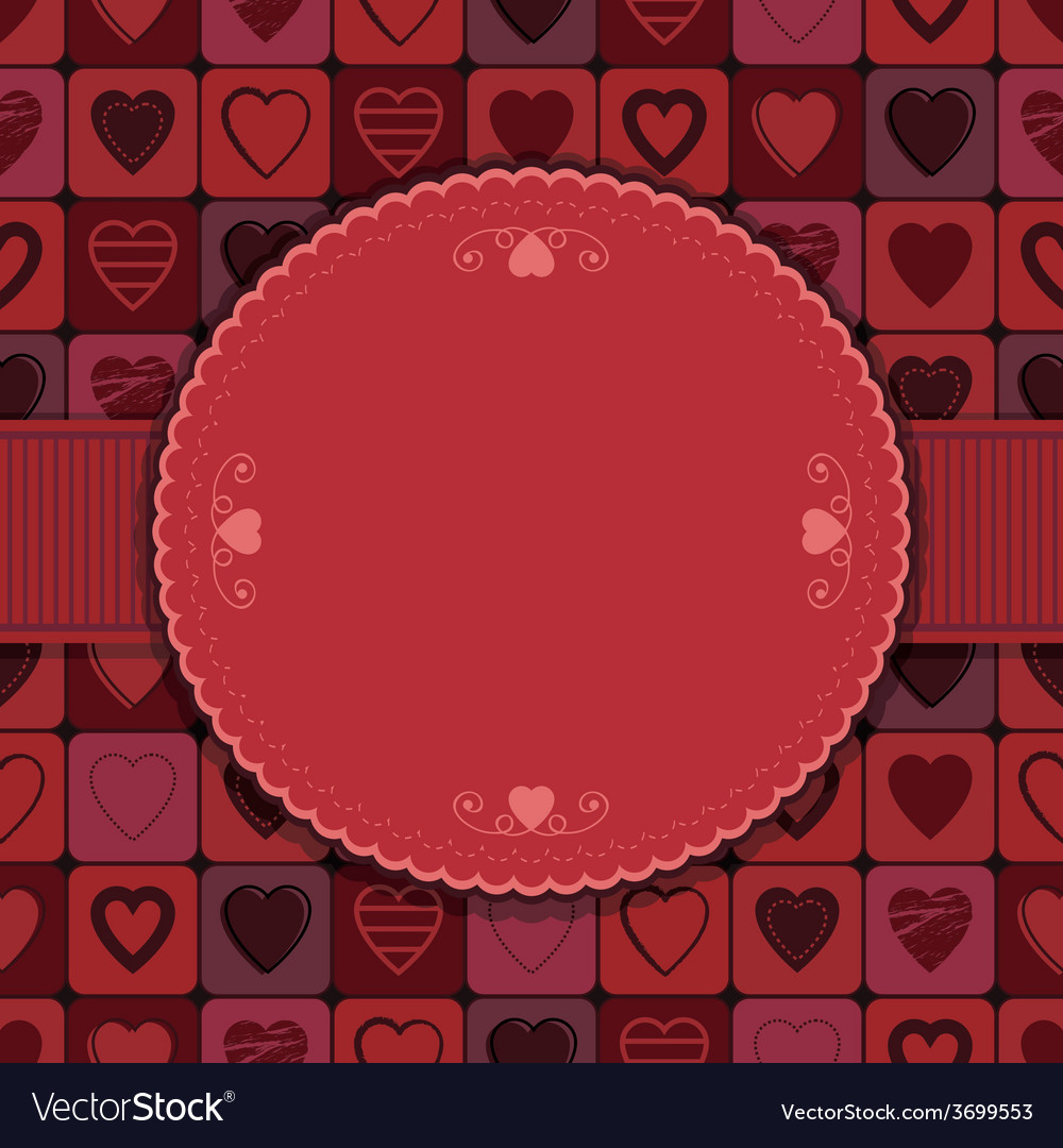 Valentine frame vector | Price: 1 Credit (USD $1)