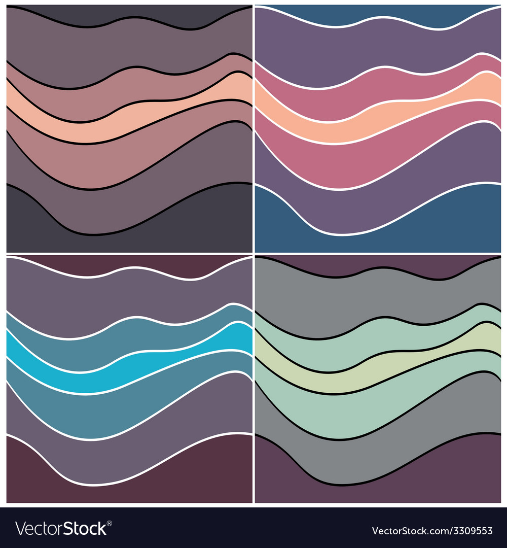 Violet waves vector | Price: 1 Credit (USD $1)