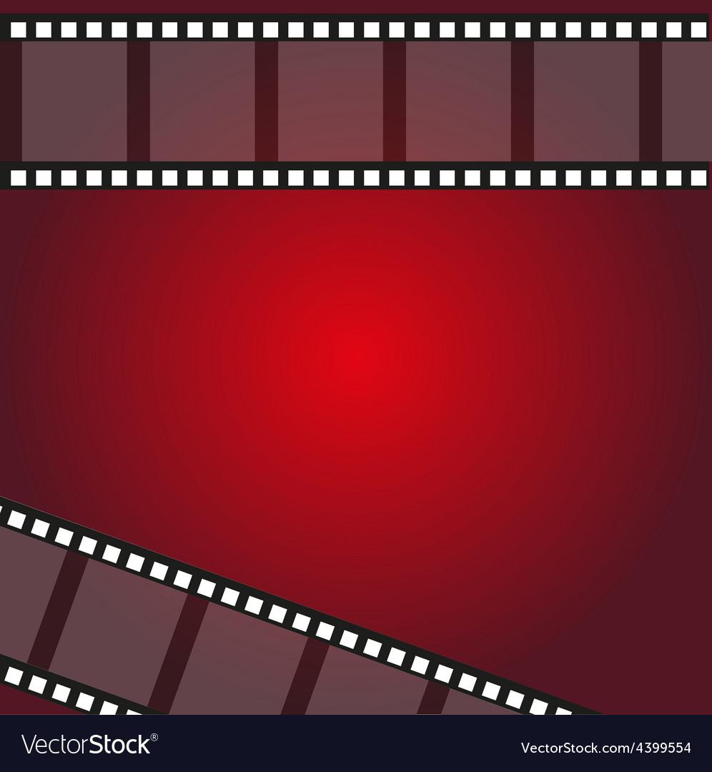 Filmstrip frame background vector | Price: 1 Credit (USD $1)