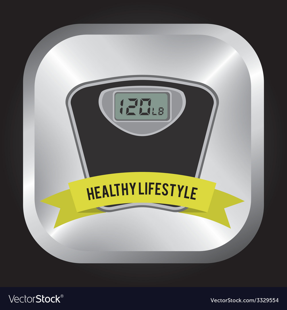 Healthy lifestyle design vector | Price: 1 Credit (USD $1)