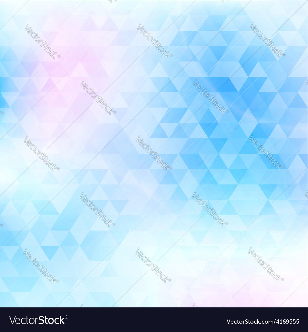 Abstract geometric background with triangles cover vector | Price: 1 Credit (USD $1)