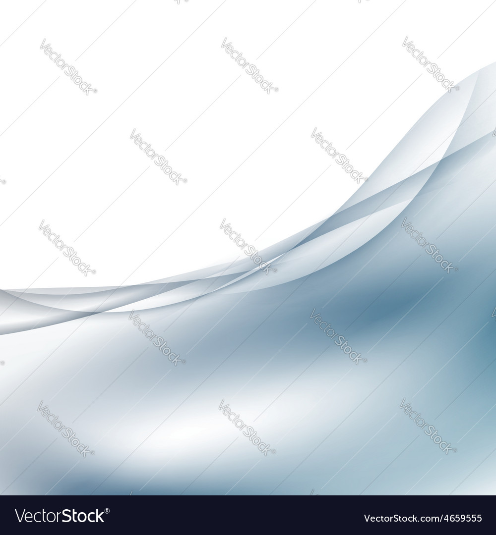 Abstract satin swoosh wave border card template vector | Price: 1 Credit (USD $1)