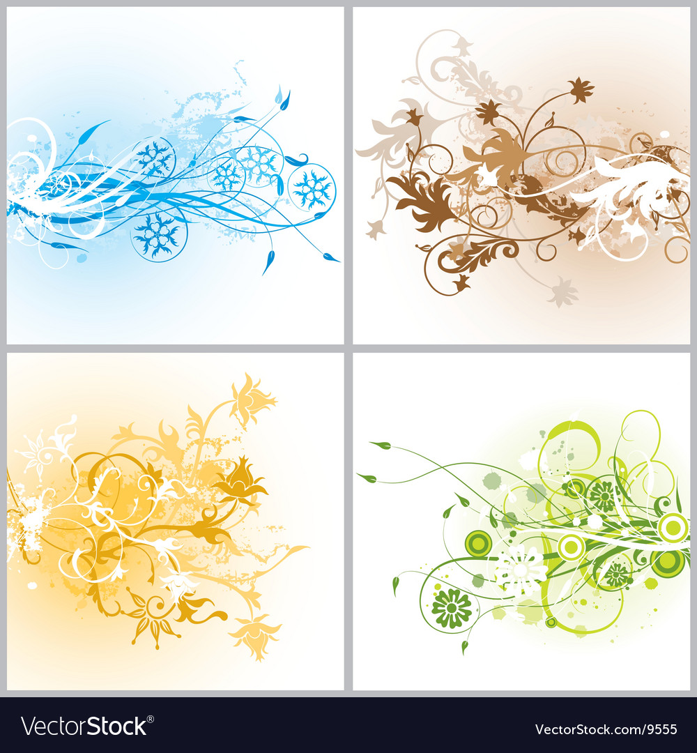 Floral background vector   Price: 3 Credit (USD $3)