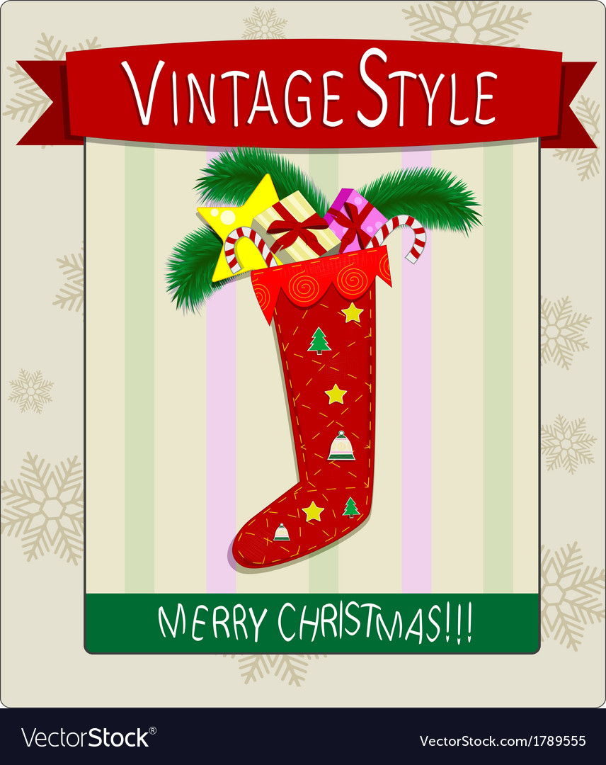 X mas postcard vector | Price: 1 Credit (USD $1)