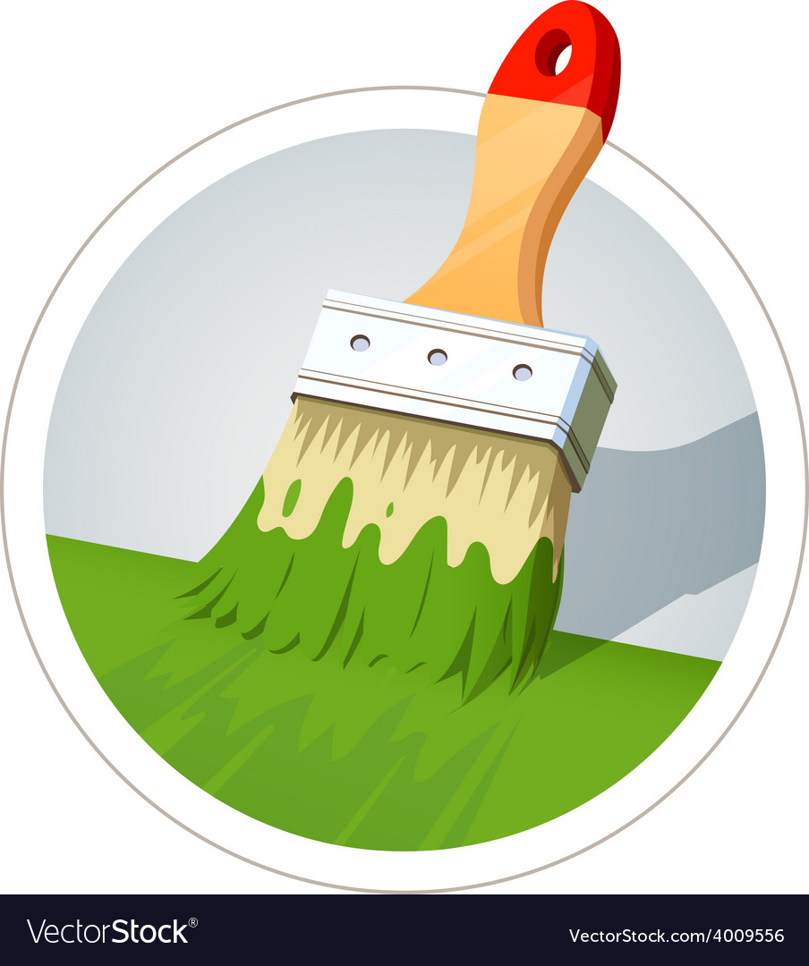 Brush for painting vector | Price: 3 Credit (USD $3)