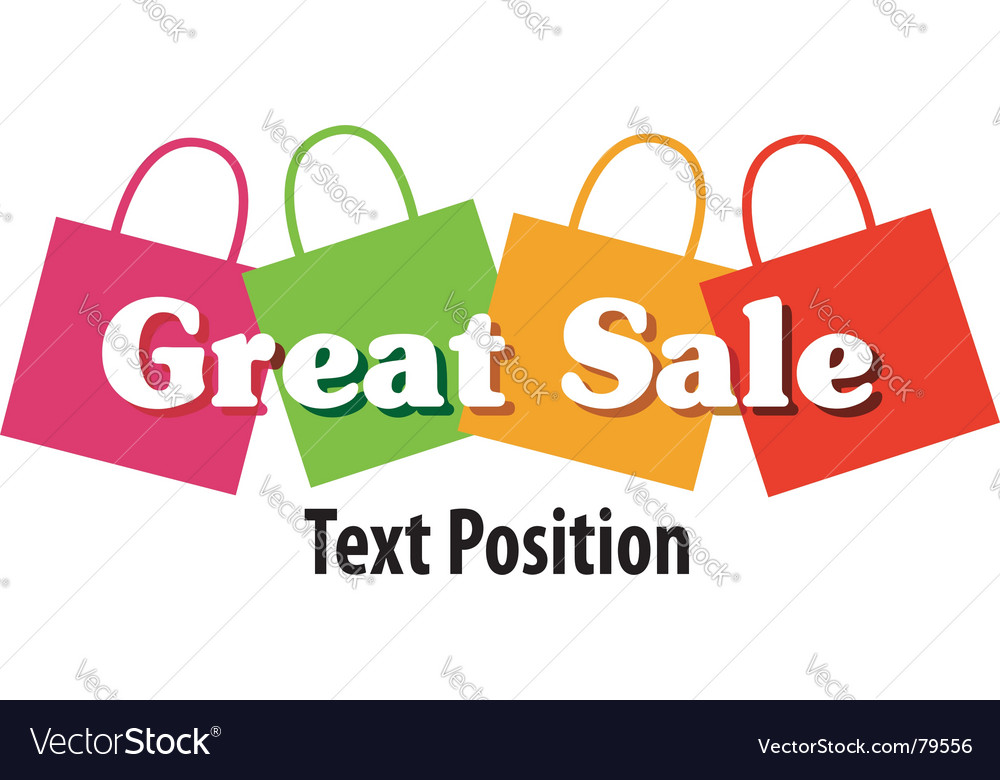 Great sale vector