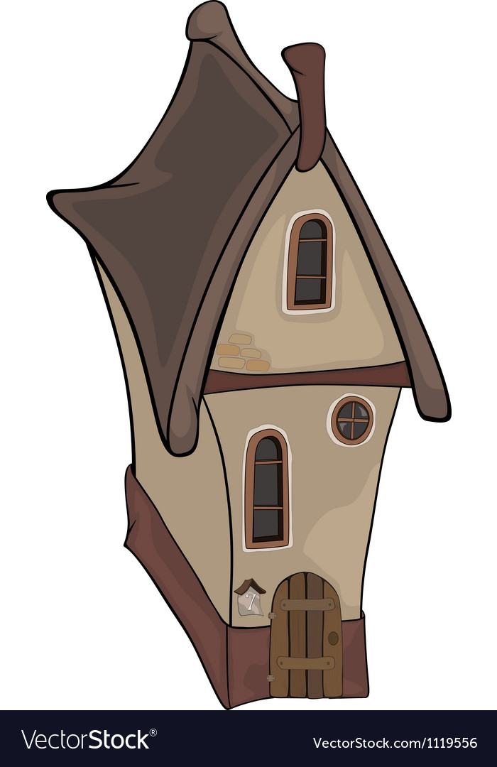 The old house vector | Price: 1 Credit (USD $1)