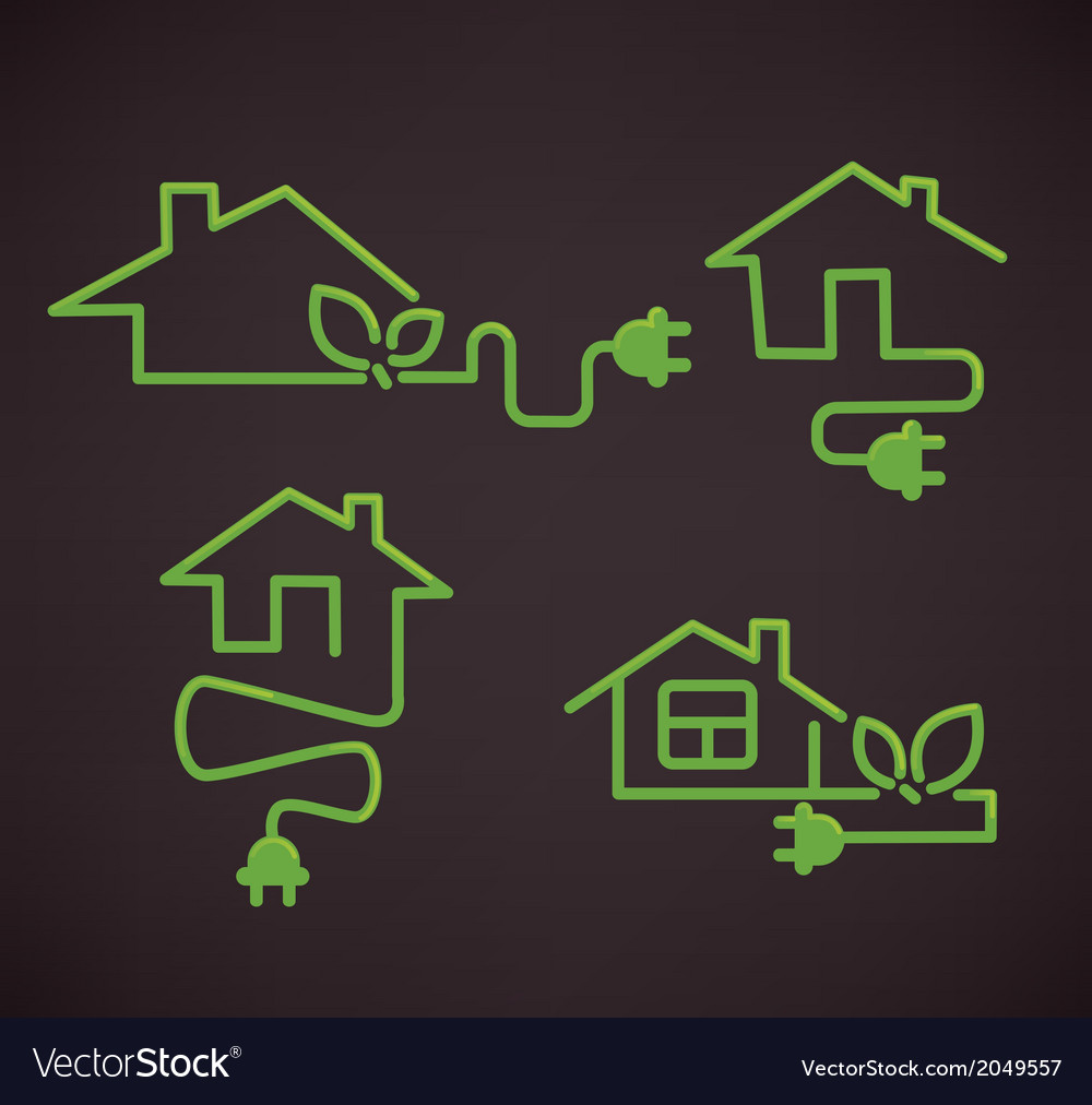 Smart homes vector | Price: 1 Credit (USD $1)