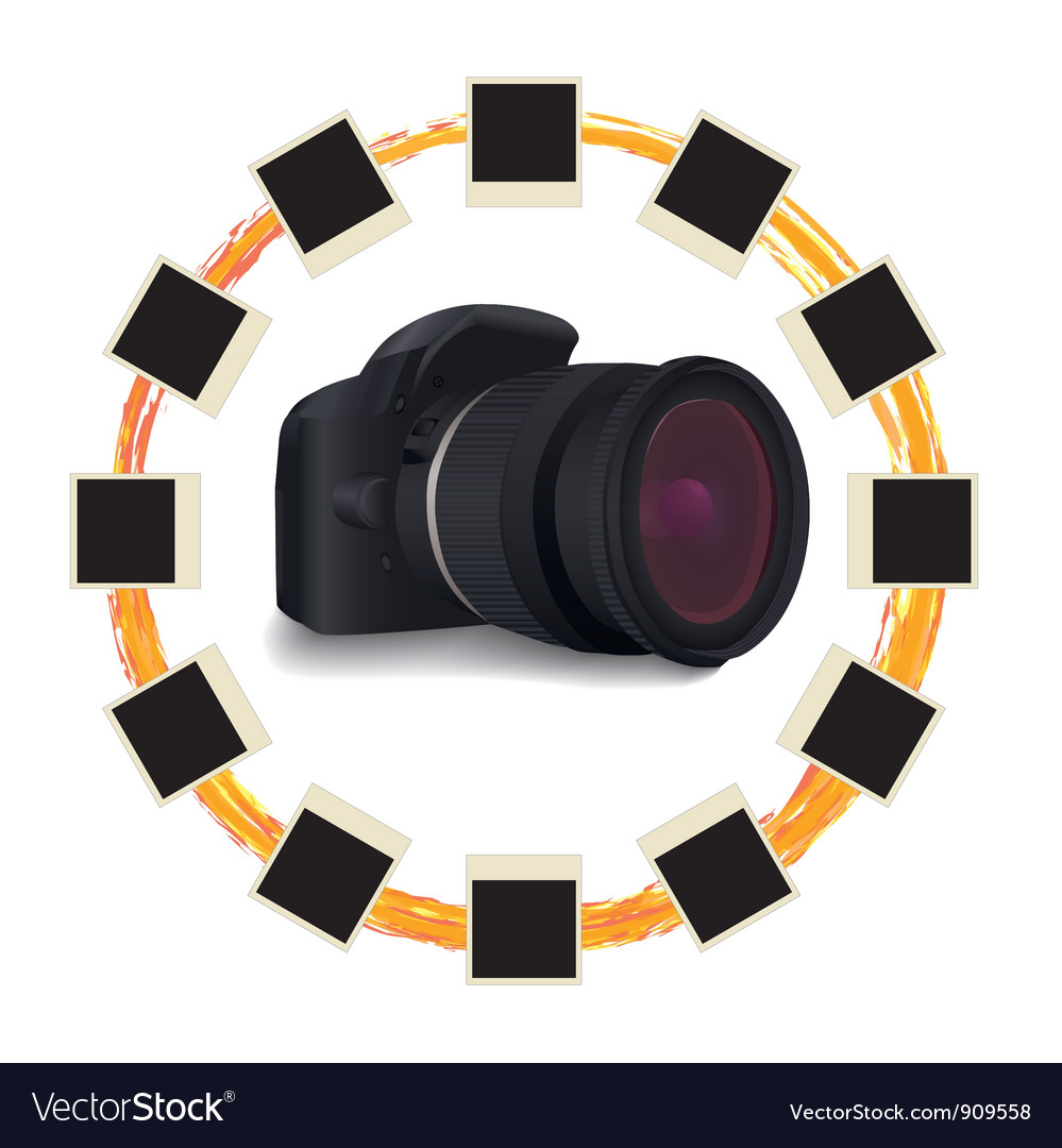 Photography object vector | Price: 3 Credit (USD $3)