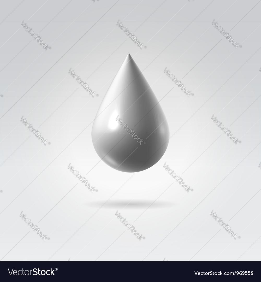 Silverdrop vector | Price:  Credit (USD $)