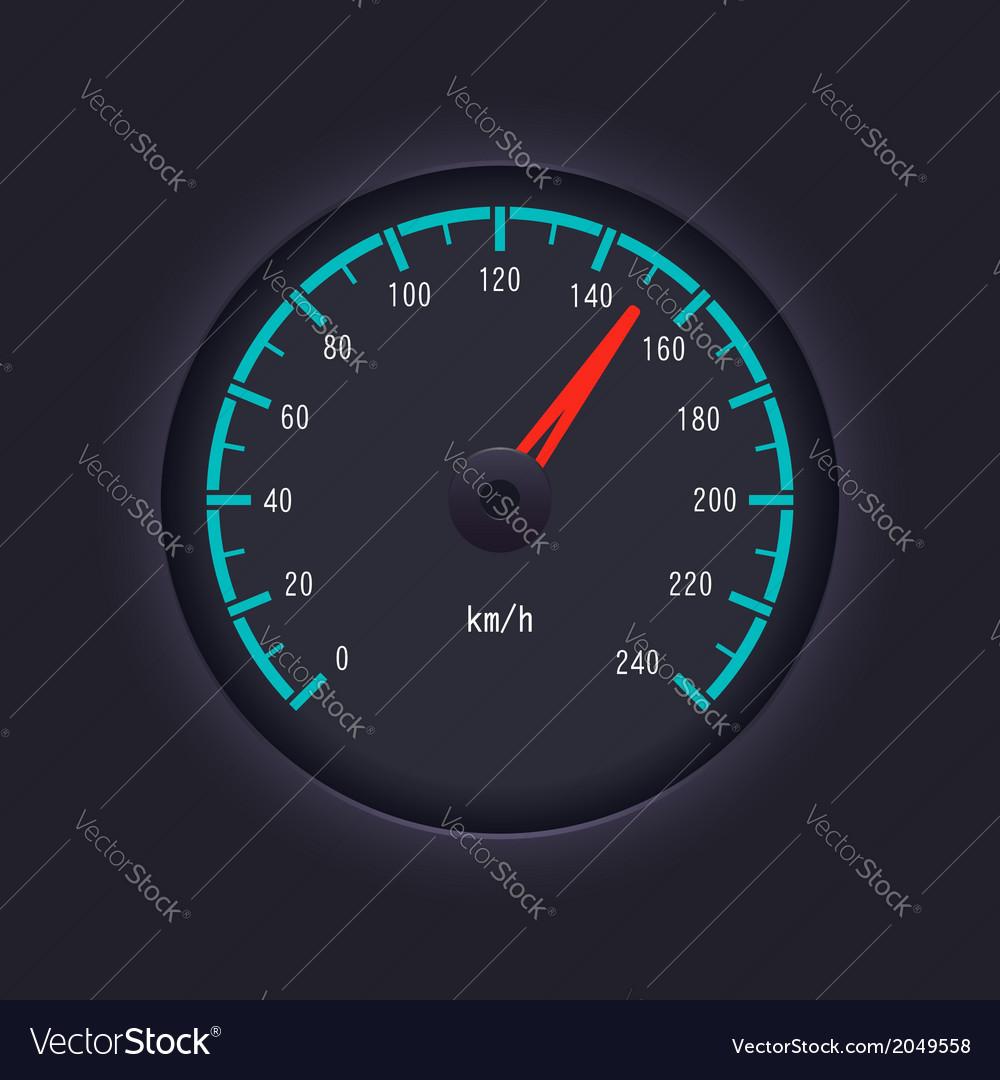 Speedometer design vector | Price: 1 Credit (USD $1)
