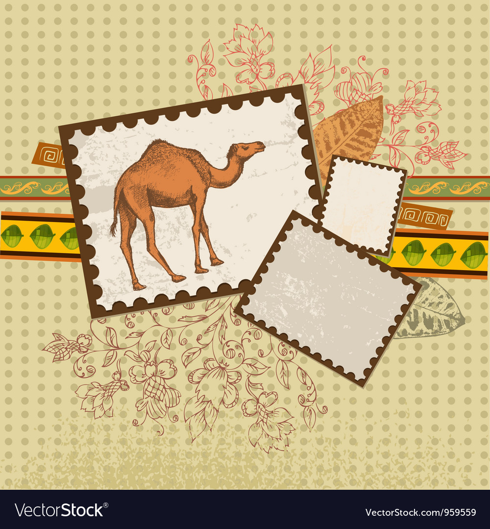 Art camel3 vector | Price: 1 Credit (USD $1)