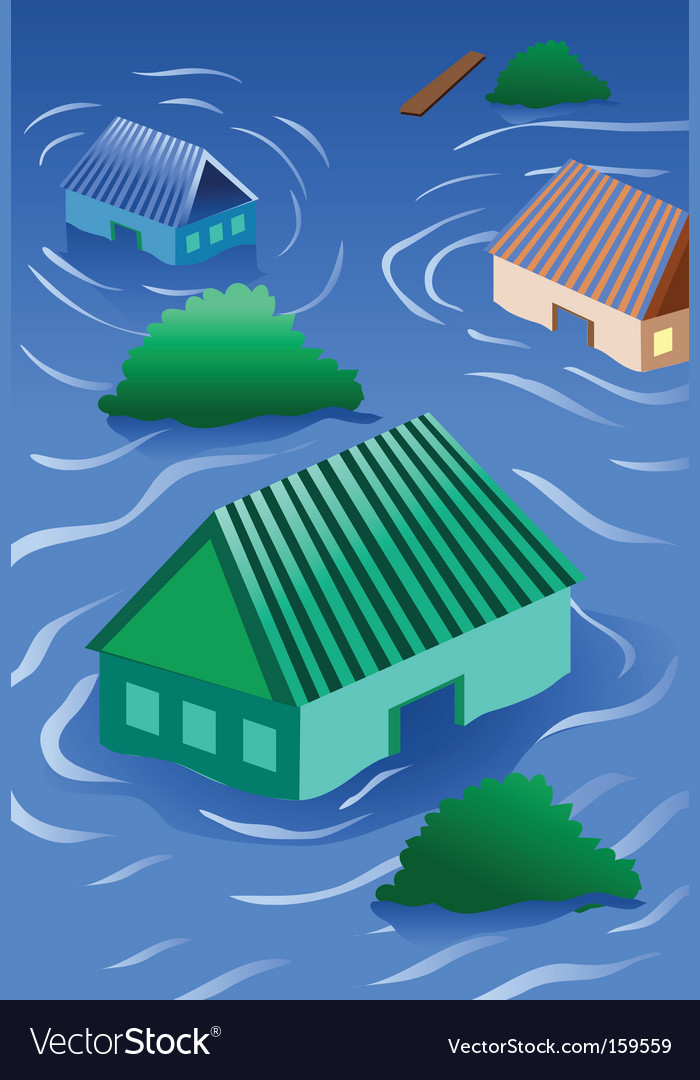 Natural disaster vector | Price: 1 Credit (USD $1)