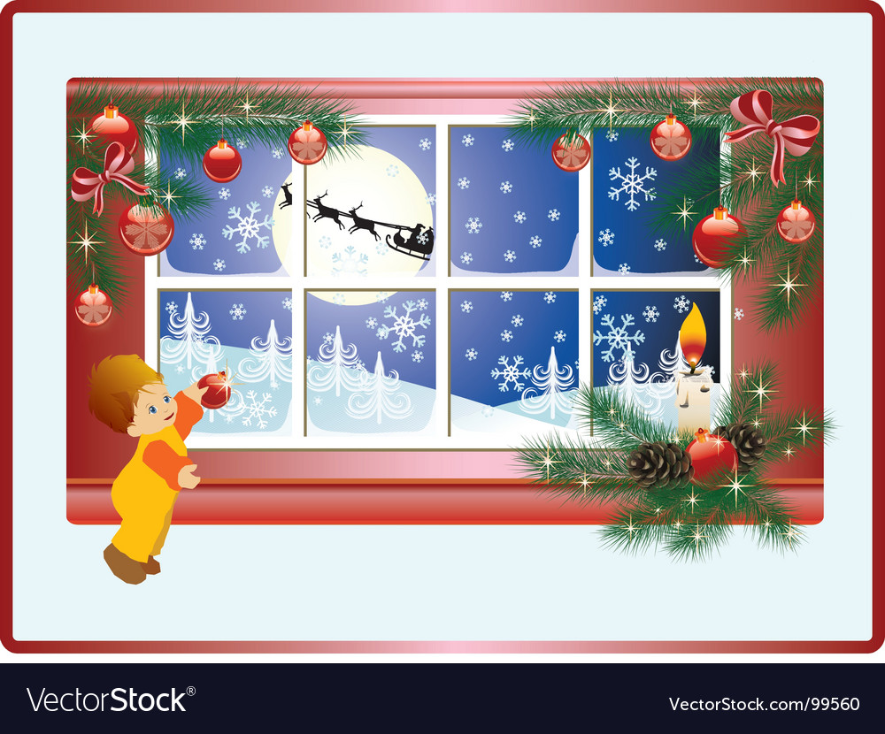 Christmas story vector | Price: 1 Credit (USD $1)