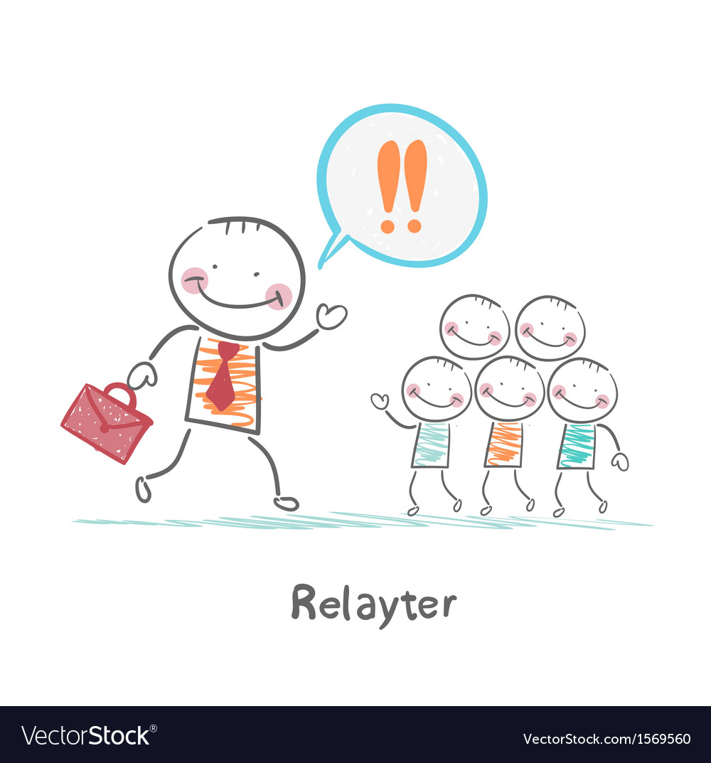 Relayter praise products to the people vector | Price: 1 Credit (USD $1)