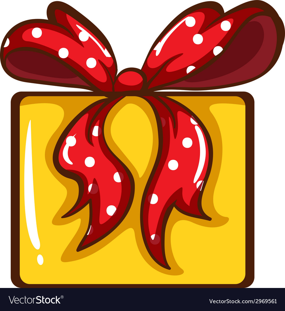 A coloured sketch of a christmas gift vector   Price: 1 Credit (USD $1)