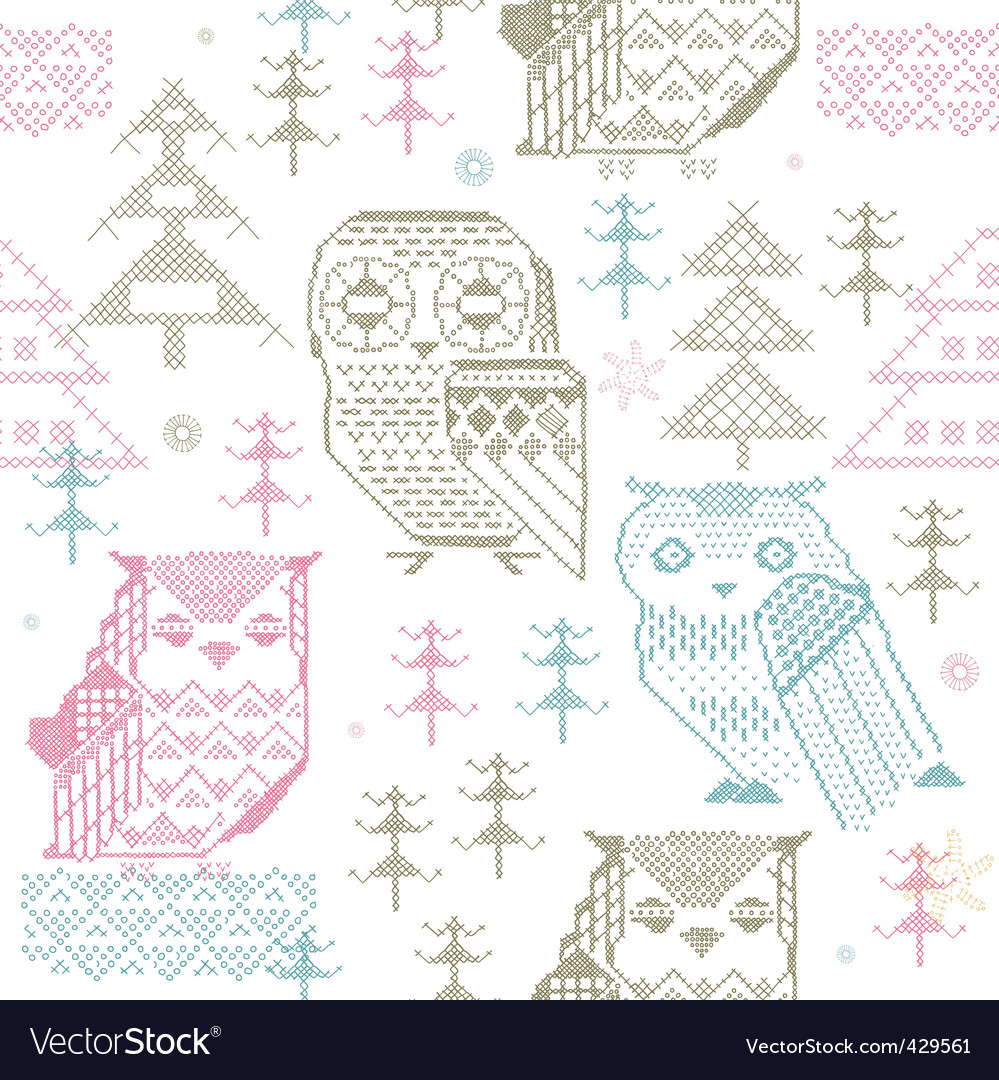 Knitted design elements vector   Price: 1 Credit (USD $1)