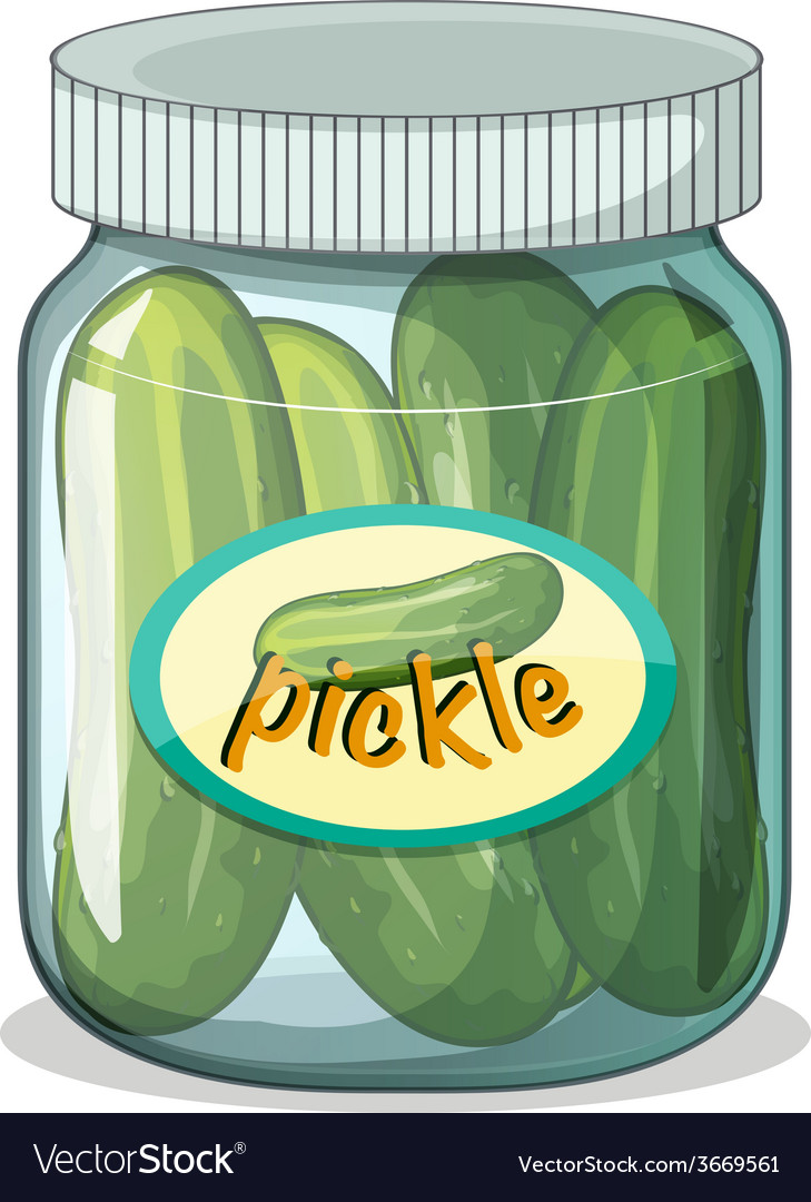Pickle vector | Price: 1 Credit (USD $1)