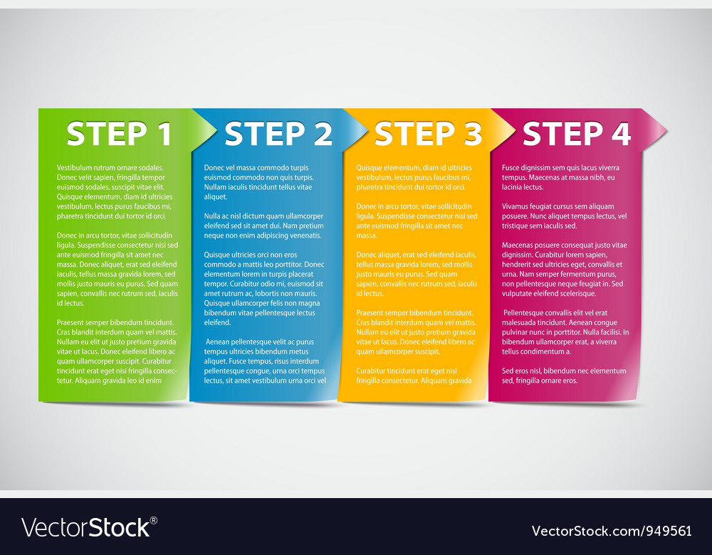 Steps vector | Price: 1 Credit (USD $1)