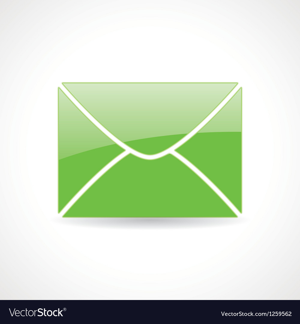 Icon of the envelope vector | Price: 1 Credit (USD $1)