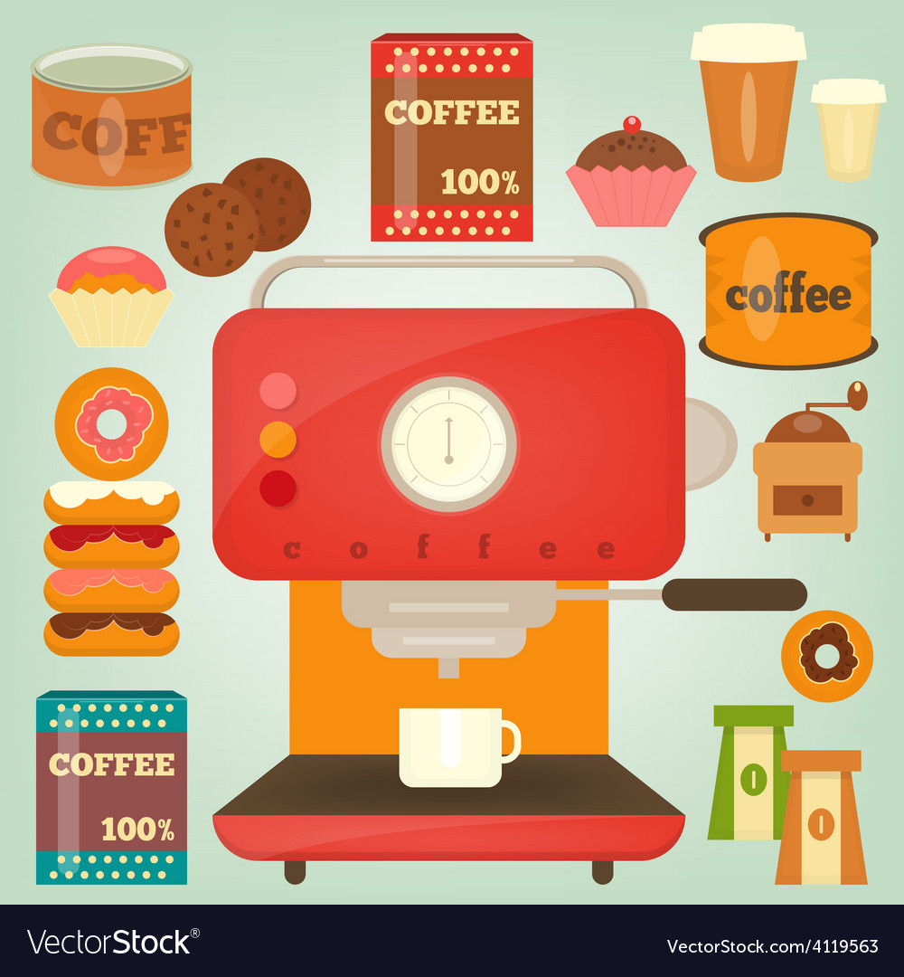 Coffee2 vector | Price: 3 Credit (USD $3)