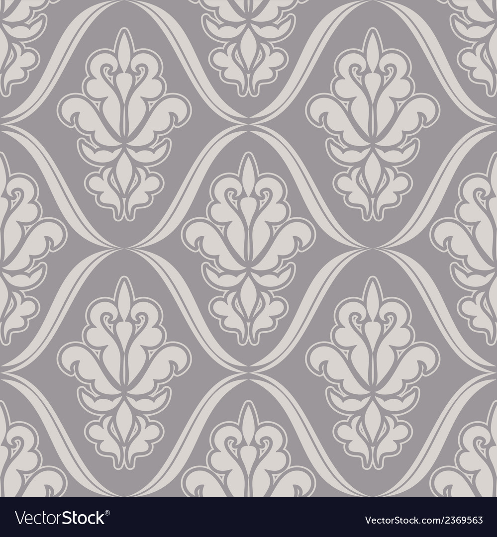 Damask beautiful background vector | Price: 1 Credit (USD $1)
