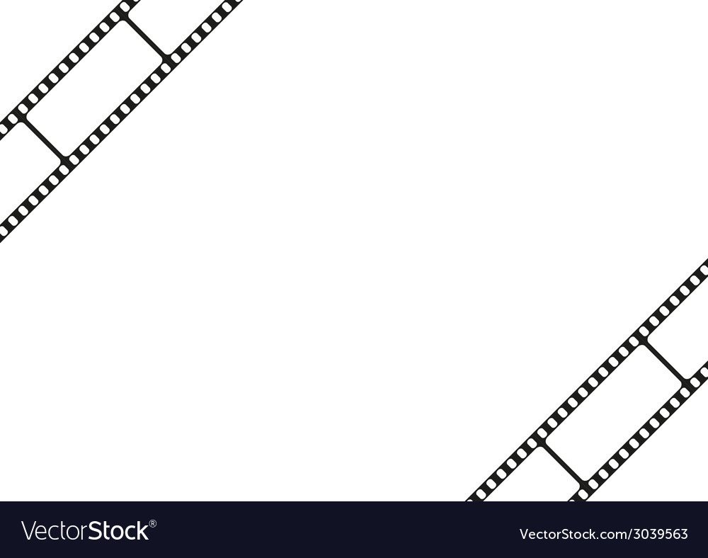 Film strip template border movie theater frame vector | Price: 1 Credit (USD $1)