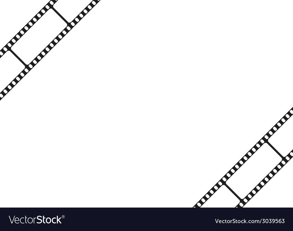 Film strip template border movie theater frame vector | Price: 1 Credit (USD $1)