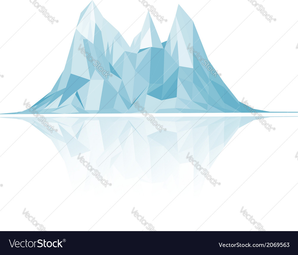 Mountains low-poly style vector | Price: 1 Credit (USD $1)