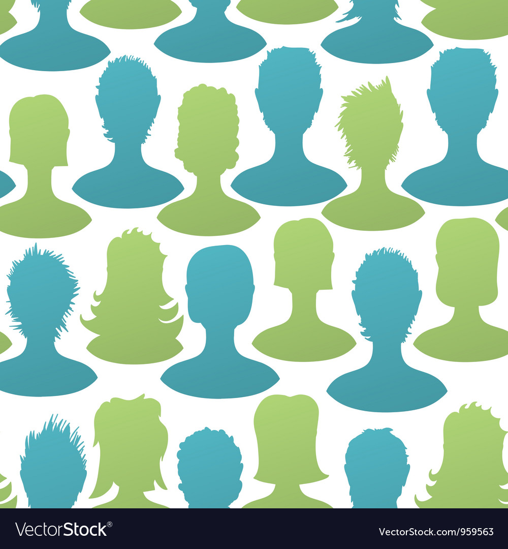 Social seamless pattern vector | Price: 1 Credit (USD $1)
