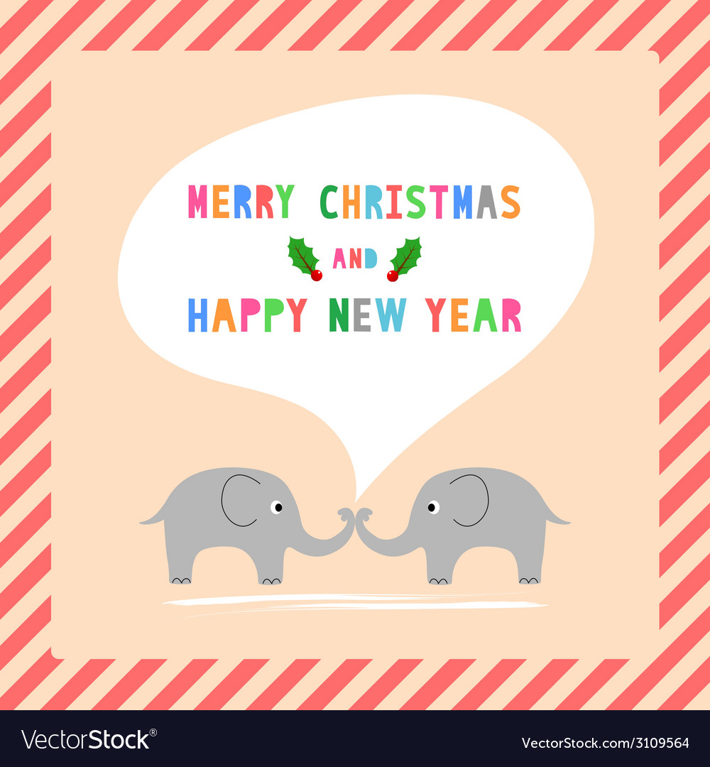Mc and hny greeting card11 vector | Price: 1 Credit (USD $1)