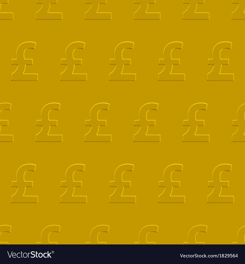 Pound sterling pattern vector | Price: 1 Credit (USD $1)