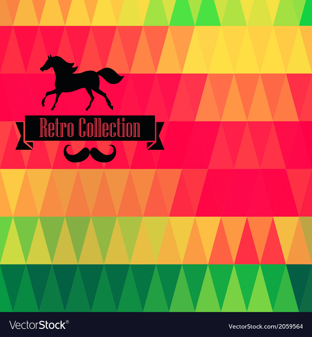 Retro supply hipster background retro styled vector   Price: 1 Credit (USD $1)