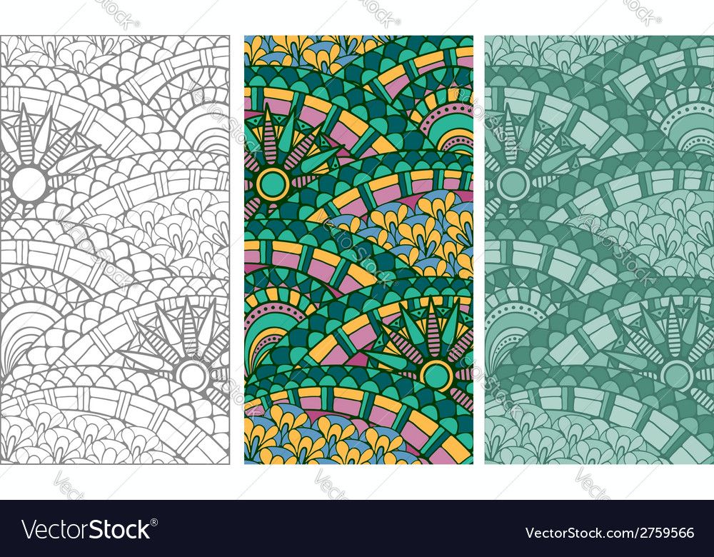 Doodle pattern vector | Price: 1 Credit (USD $1)