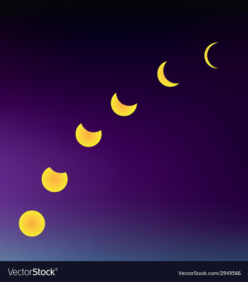 Moon multiple vector | Price: 1 Credit (USD $1)