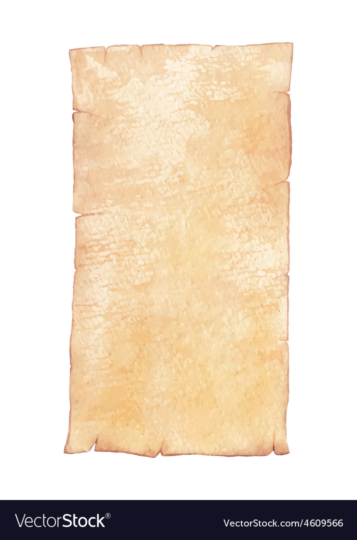 Watercolor old paper vector   Price: 1 Credit (USD $1)