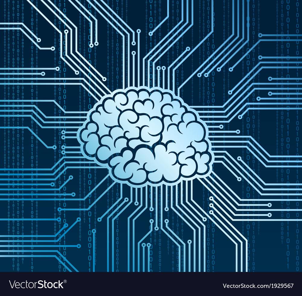 Cyberbrain vector | Price: 1 Credit (USD $1)
