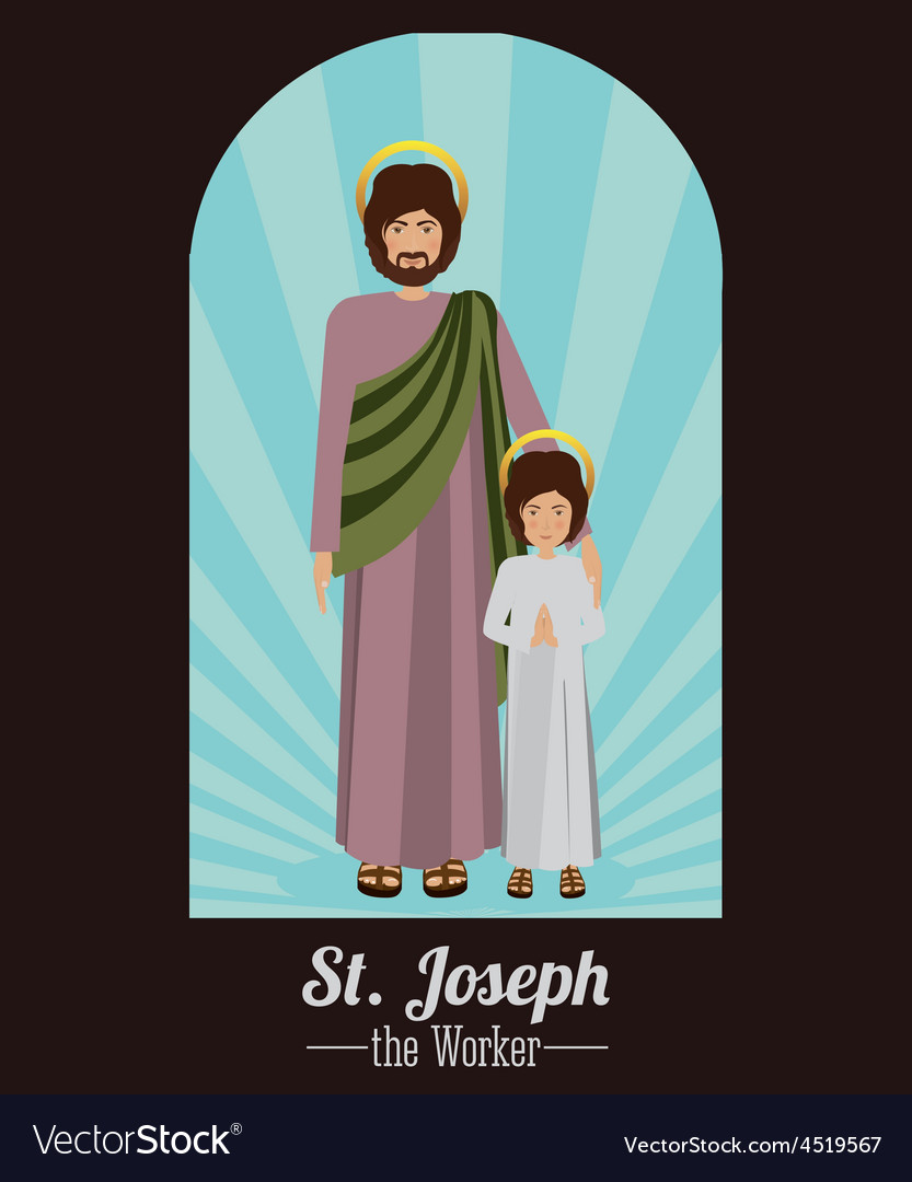 Holy family design vector | Price: 1 Credit (USD $1)